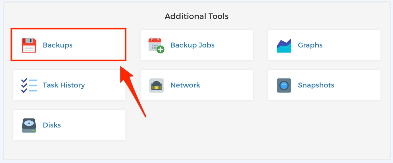 Step 1 - Restore Backups