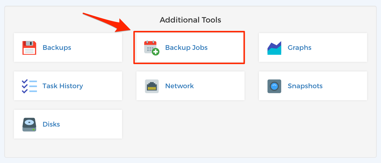 Step 3 - Scheduled Backups