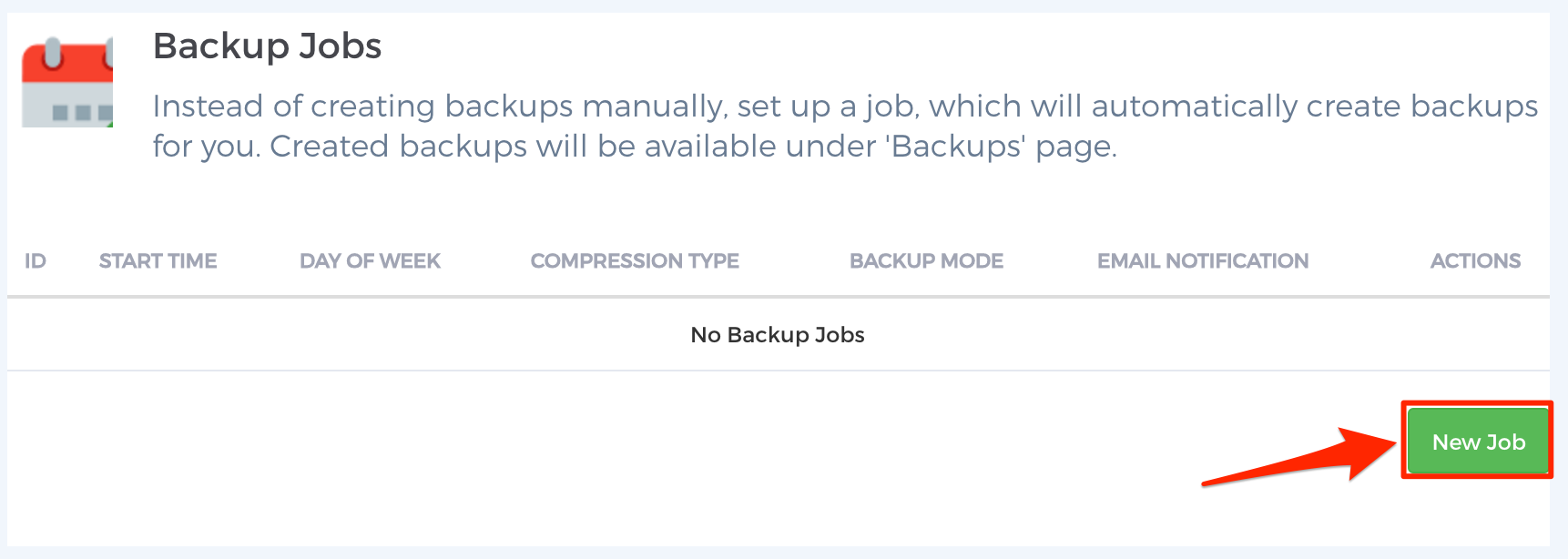 Step 4 - Scheduled Backups